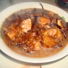 茶树菇炖鸡块