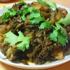 梅干菜烧鸡腿