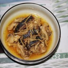 梅香咸鱼蒸鸡腿