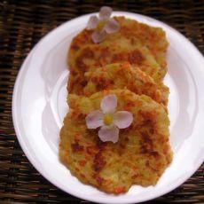胡萝卜土豆饼――宝宝营养美食的做法