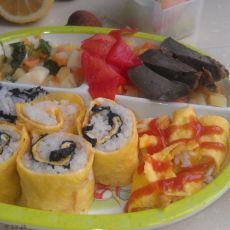 寿司便当―为宝宝做的