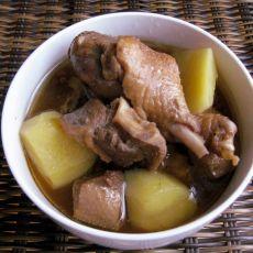 美味鸭肉炖土豆
