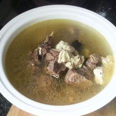 香菇豆腐炖老鸭汤