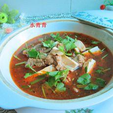 麻辣豆腐鸭汤煲