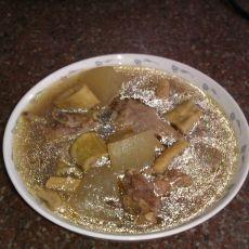 冬瓜笋干鸭肉汤