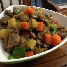 咖喱土豆焖鸭