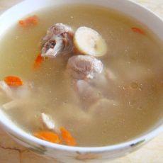 黄芪枸杞煲鸭汤的做法