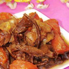 茶树菇焖鸭