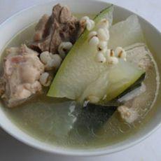 鸭腿冬瓜薏米汤