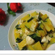 咸蛋炒南瓜的做法