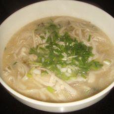 菌菇笋丝汤