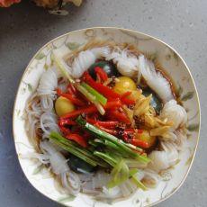 魔芋丝拌鹌鹑松花蛋的做法