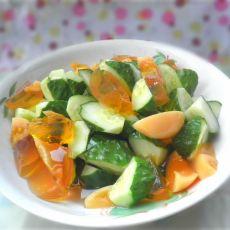 黄瓜拌皮蛋