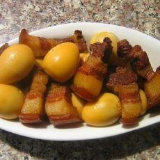鹌鹑蛋红烧肉的做法