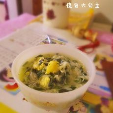 鹌鹑蛋菠菜汤面