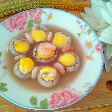 高汤口蘑盅
