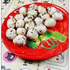 烧烤味的鹌鹑蛋的做法