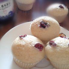 蔓越莓蓝莓炼乳小蛋糕