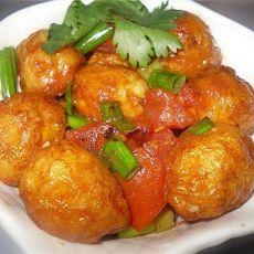 番茄虎皮鹌鹑蛋的做法