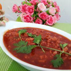 番茄肉酱蒸鹌鹑蛋