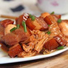 腐竹红烧肉的做法