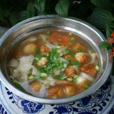鹌鹑蛋平菇汤