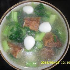 豆腐卷菜汤的做法