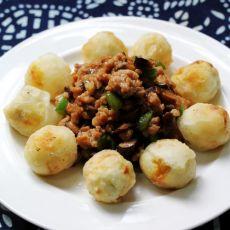 香菇肉酱烩鹌鹑蛋