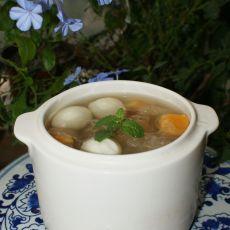 鹌鹑蛋红薯银耳汤