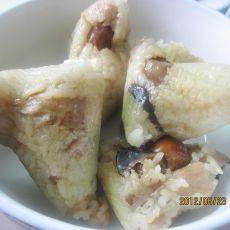 花生咸肉粽