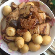卤肉鹌鹑蛋烧香菇