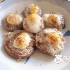 鲜香蘑菇蛋盅