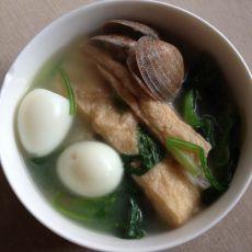 油豆条蛤蜊面