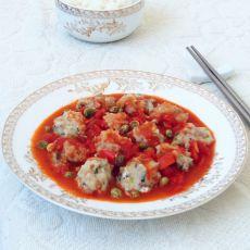 茄汁鱼丸的做法