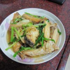 半煎煮草鱼的做法