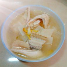 萝卜鱼排汤