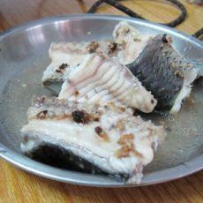 姜蓉豆豉蒸草鱼