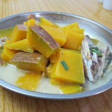 南瓜草鱼汤