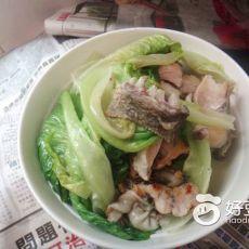 草鱼生菜汤的做法