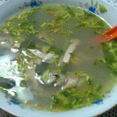草鱼干丝汤的做法