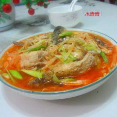 腐乳萝卜丝煮鱼