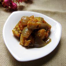 咖喱鲈鱼丁