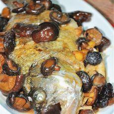 香菇鲈鱼的做法