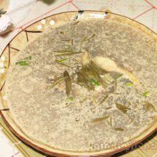 鲈鱼莼菜汤的做法