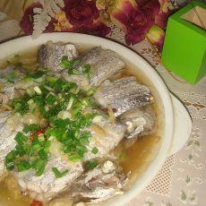 蒜香带鱼段