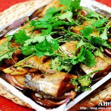 美味香烤带鱼