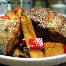 豆干烧带鱼的做法