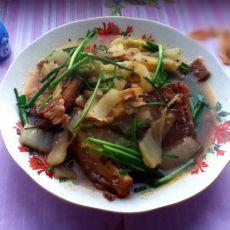 带鱼烧白菜