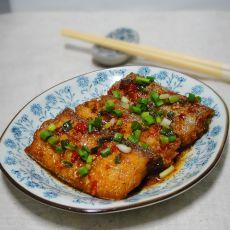剁椒红烧带鱼的做法
