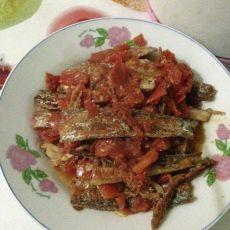 茄子红烧带鱼